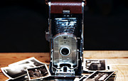 Polaroid Camera Framed Prints - Polaroid Land Camera Framed Print by John Rizzuto
