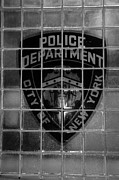 Police Art Posters - POLICE DEPARMENT CITY OF NEW YORK in BLACK AND WHITE Poster by Rob Hans