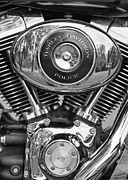 Harley Davidson Framed Prints - Police Framed Print by Thomas Young