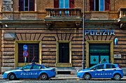 Luis Santos - Police vehicles in Rome