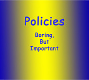 Dianne Brooks - Policies