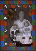 Universal Mother Art - Polish Grandmother by Diana Perfect