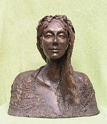 Portrait Sculpture Originals - Polish Landscape by Markus Czarne