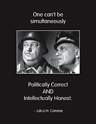 Quotation Framed Prints - Political Correctness Framed Print by Mike Flynn