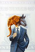 Politics Print by Juan Pablo Ruiz