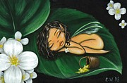 Sleeping Art - Pollen Pixie by Elaina  Wagner