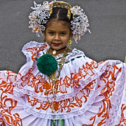 Childrens Photos - Pollera Costume by Heiko Koehrer-Wagner