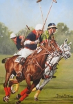 Polo Paintings - Polo 11 by David McEwen