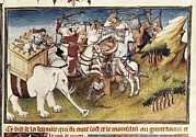 Miniatures Art - Polo, Marco 1254-1324. Book Of Wonders by Everett