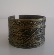 Bangle Jewelry - Polymer Clay Bangle by Iliana Tosheva