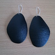 Polymer Jewelry - Polymer Clay Earrings by Iliana Tosheva