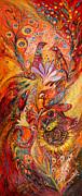 Polyptich Part IIi - Fire Print by Elena Kotliarker