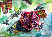Genevieve Esson - Pomegranate and Dragonflies