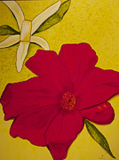 Santa Cruz Art Originals - Pomegranate Lemon by Phoenix The Moody Artist