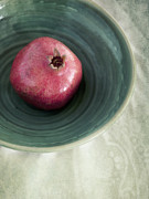 Textures Photo Metal Prints - Pomegranate Metal Print by Priska Wettstein
