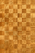 Large Format Digital Art Prints - Pommele Sapele and Figured Douka Chequered Pattern Print by Hakon Soreide