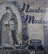 Downtown Pomona Posters - Pomona Art Walk - Nuestra Madre Poster by Gregory Dyer