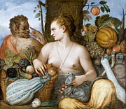 Famous Artists - Pomona by Frans Floris