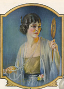 Featured Art - Pompean  1920s Usa Cc  Make-up Vanity by The Advertising Archives