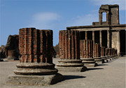 Ancient Ruins Prints - Pompeii Print by Bob Christopher