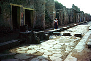 Empire Photo Originals - Pompeii Crosswalk by Jan Faul