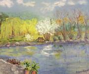 Barbara Anna Knauf - Pond in Ulm Germany in...