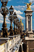Streetlight Photos - Pont Alexandre III by Brian Jannsen