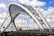 Architecture Photo Prints - Ponte Settimia Spizzichino Print by Fabrizio Troiani