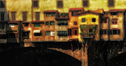 Ponte Vecchio Firenze Print by Mike Nellums