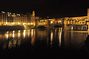 Structure Originals - Ponte Vecchio Nocturne by William Fields
