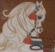 Handcrafted Art - Pony by HollyWood Creation By linda zanini