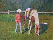 Terry Perham Art - Pony by Terry Perham