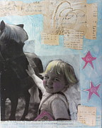 Smiles Mixed Media - Pony Time by Kim Grant