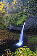 Beauty Mark Photo Framed Prints - Ponytail Falls Framed Print by Mark Kiver