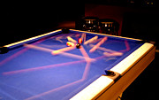 Billards Framed Prints - Pool Break Framed Print by Kevin DuBart