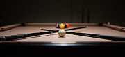 9 Ball Photos - Pool Time by Mike Lee