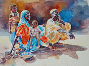 Mohamed Fadul - Poor family waiting