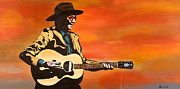 Guitar Painting Originals - Poor Fool by Salvadore Delvisco