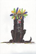 Mardi Gras Paintings - Poor Jack at Mardi Gras by Ellen Howell