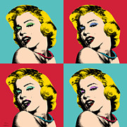 Gay Digital Art - Pop Art Collage  by Mark Ashkenazi