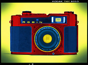 35mm Framed Prints - PoP aRt RoBiN Framed Print by Mike McGlothlen