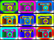 Film Camera Prints - PoP aRt RoBiN pRoOfS Print by Mike McGlothlen