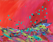 Fizz Paintings - Pop Rocks by Amy Yosmali