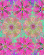 Ricki Mountain - Pop Spiral Floral 14 -