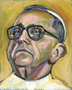 Vatican Paintings - Pope Francis by Buffalo Bonker