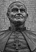 Statuary And Mannequins - Pope John Paul II Bronze Bust by Robert Ullmann