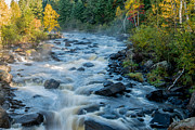 Northwoods Photos - Poplar River  by Shane Mossman