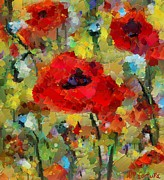 Poppies Print by Dragica  Micki Fortuna