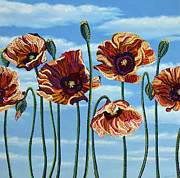 Erika Pochybova-Johnson - Poppies