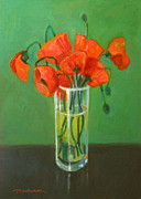 Tancau Emanuel - Poppies Field In Glass